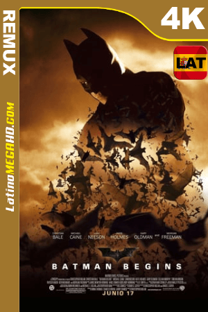 Batman inicia (2005) Latino HDR Ultra HD BDRemux 2160P ()