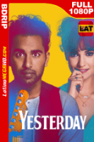 Yesterday (2019) Latino HD BDRip 1080P - 2019