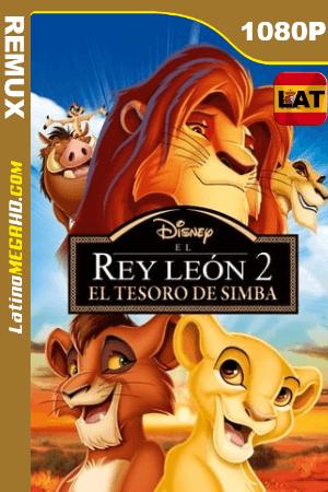 El Rey León 2: El reino de Simba (1998) Latino HD BDREMUX 1080p ()
